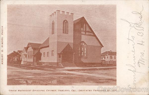 Grace Methodist Episcopal Church Oakland California