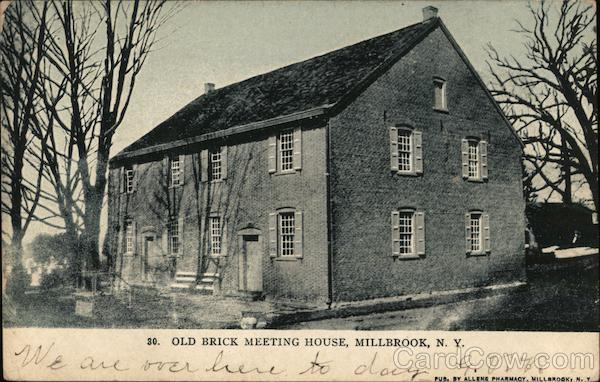 Old Brick Meeting House Millbrook New York