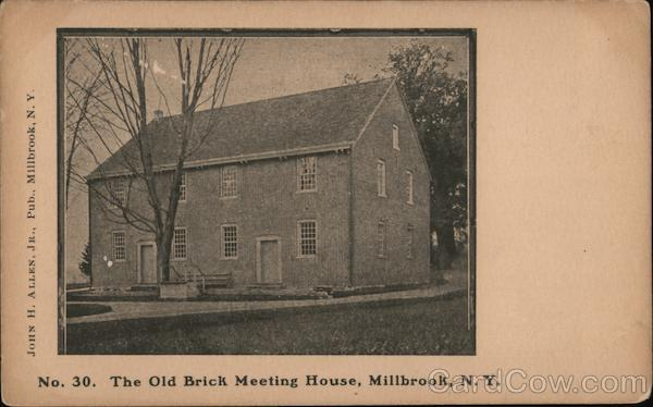 The Old Brick Meeting House Millbrook New York
