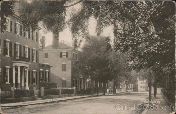 Washington Street View Salem Massachusetts