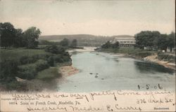 Scene on French Creek Postcard
