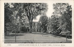 Longfellows Home, W.R. Plunkett Res.