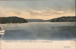 Middletown, Conn. Connecticut River and n.E. Enameling Co.