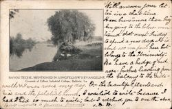 Bayou Teche, Mentioned in Longfellow's Evangeline