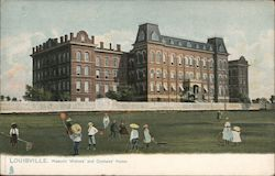 Masonic Widows' and Orphans' Home Postcard
