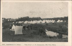 View of the G.A.R. Encampment