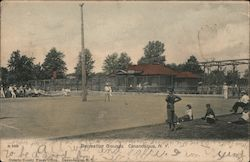 Recreation Grounds Postcard