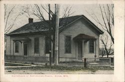 Birthplace of Republican Party Postcard
