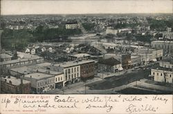 Birds Eye View of Beloit Postcard