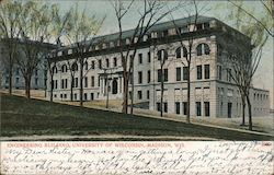 Engineering Building, University of Wisconsin Postcard