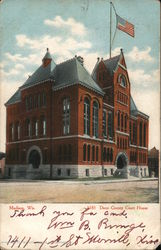 Dane County Court House Postcard