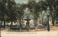 Fountain, Court House Square