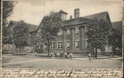 Logan Avenue School Postcard