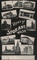 Views of Spokane Wash.