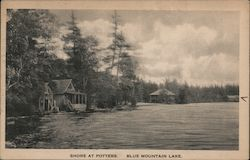 Shore at Potters, Blue Mountain Lake