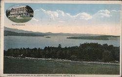 Lake Winnepesaukee from the Winnecoette Postcard