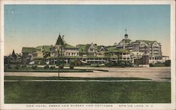 New Hotel Essex and Sussex and Cottages Postcard
