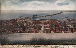 Duluth From Boulevard Drive Postcard