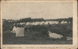 View of the G.A.R. Encampment, 1906