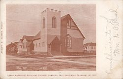 Grace Methodist Episcopal Church Postcard