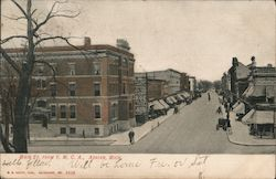 Main St. From Y.M.C.A. Postcard