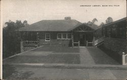 Greenleaf Library , Buck Hill Falls Postcard