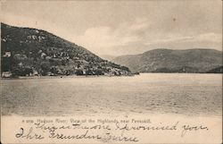 Hudson River, View of the Highlands, Near Peekskill Postcard