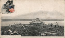 Casino, Top of Mt. Beacon Postcard