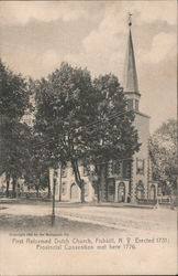First Reformed Dutch Church Postcard