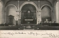 Interior of St. Michael's Lutheran Church