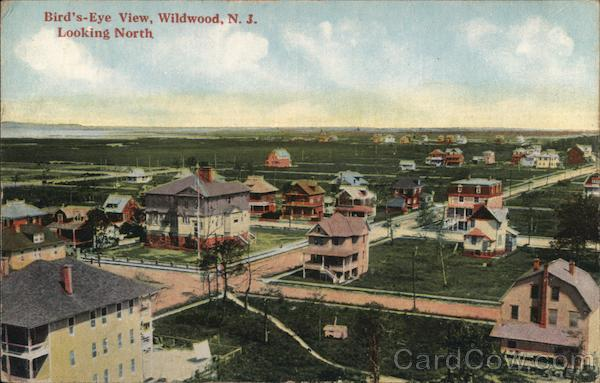 Bird's Eye Viewlooking North Wildwood New Jersey