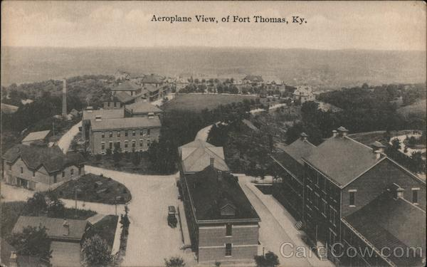 Aeroplane View of Fort Thomas, KY Kentucky