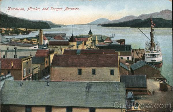 Kethikan, Alaska and Congas Narrow