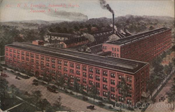 H. H. Franklin Automobile Works Syracuse New York