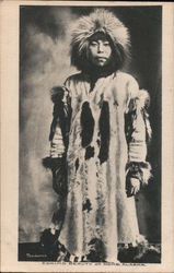 Eskimo Beauty Postcard