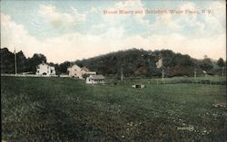 Mount Misery and Battlefield Postcard