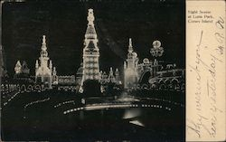 Night Scene at Luna Park