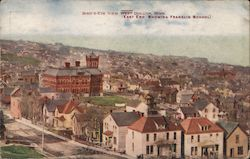 Birds-Eye View, East End Showing Franklin School