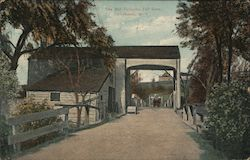 The Old Turnpike Toll Gate Postcard