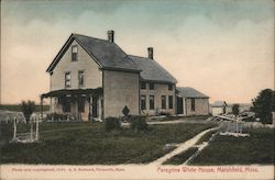 Peregrine White House Postcard