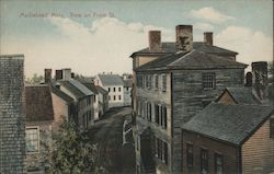 View on Front St. Postcard