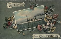 Greetings from California USS Connecticut