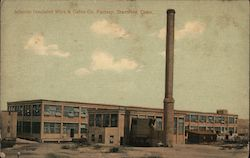 Atlantic Insulated Wire & Cable Co. Factory Postcard