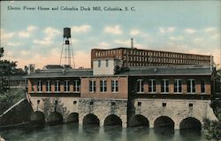 Electric Power House and Columbia Duck Mill