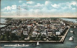 Bird's Eye View of Charleston