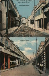Old French Quarters - Madison Street - Decatur Street