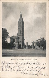 Entrance to Cave Hill Cemetery Postcard