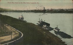 Horse Shoes Bend on the Ohio Postcard