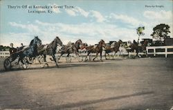 They're Off at Kentucky's Great Trots