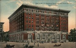 New Y.M.C.A. Building, Broadway and Third Avenue